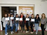 Нагородження переможців у конкурсі стінгазет  «Психологія – наука про душу»