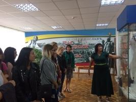 """Відвідали музей ПАТ """"Дніпроазот"""""""