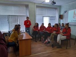 Зустріч  з жіночою волейбольною командою супер ліги СК ПРОМЕТЕЙ