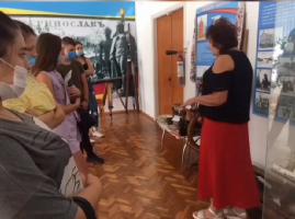 """Відвідування музею ПАТ """"Дніпро-Азот"""""""